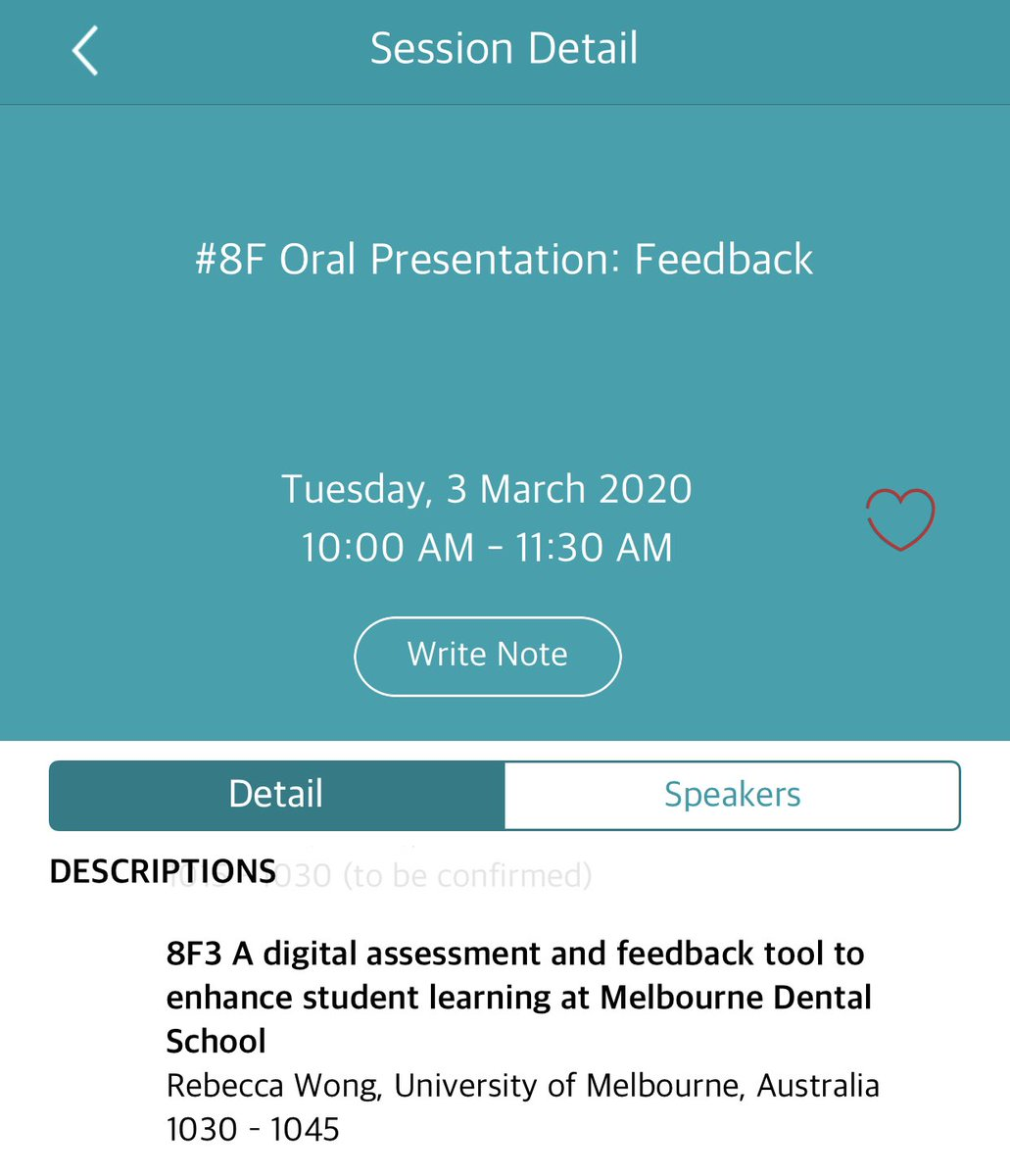 Looking forward to my 1st #Ottawa2020 presentation on object-based learning and work on #eosce with Rebecca from the Dental School. #ethics #professionaldevelopment #clinicalreasoning #feedback @UniMelbDOVS @UniMelbMDHS @unimelb @OptometryAus @AMEE_Online https://t.co/7ctpw0u9EH