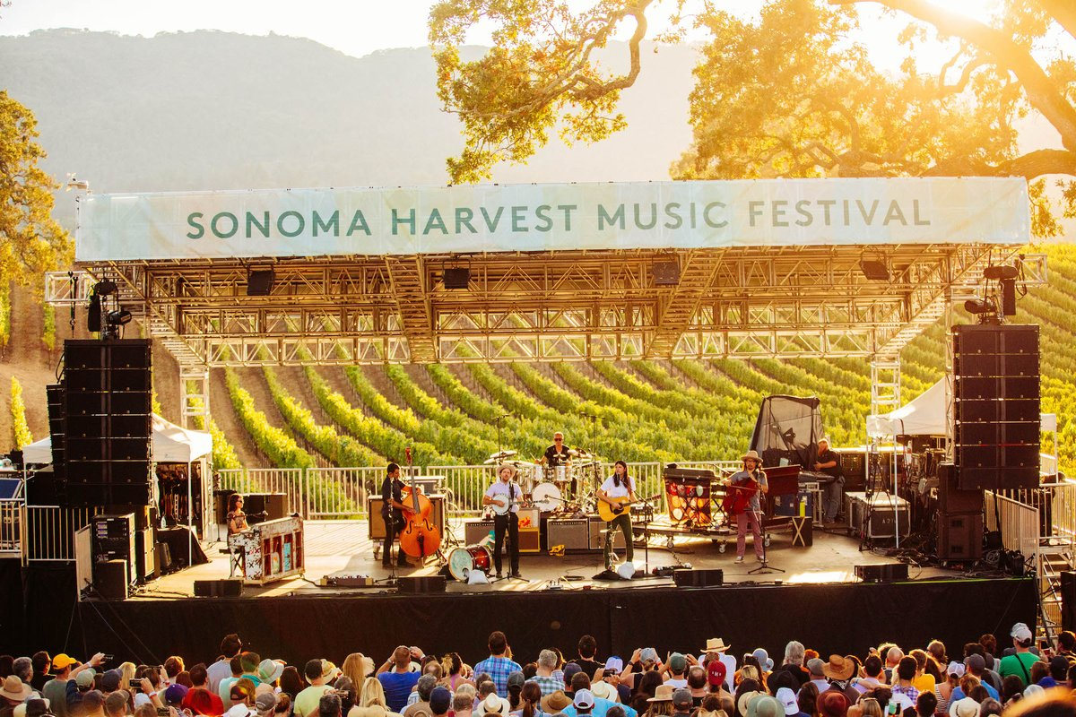 Sonoma Harvest Music Festival 2021 lineup