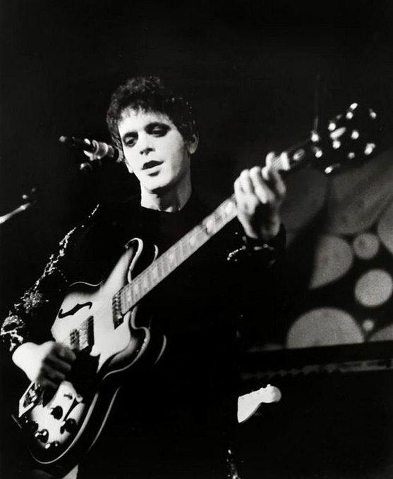 Pattie             Mr.Lou Reed Happy birthday Bob Dylan