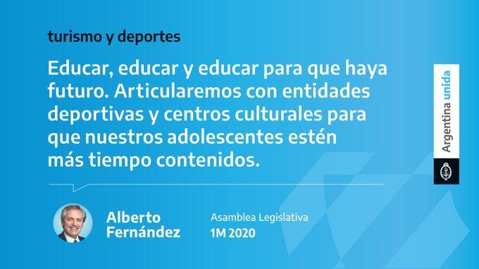 Alberto Fernández Congreso