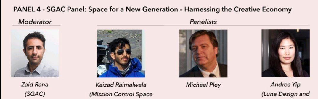 """Thank you @sedscanada for the opportunity to host this panel: diving into the """"opportunity divide"""", unconventional breakdown of space as an enabler with multiple societal dimensions and its interrelation with the creative economy, #cdnspace entrepreneurship + youth #Ascension2020 https://t.co/okgHjyoGsF https://t.co/EOihe1MyfC"""