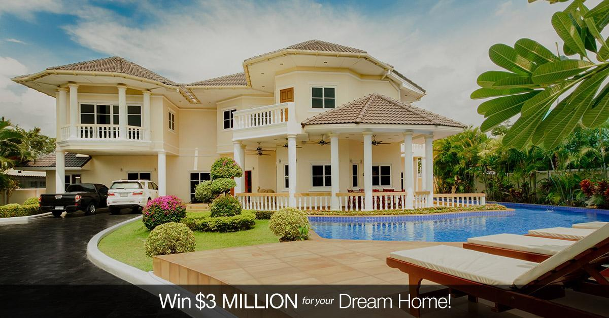 Win 3 Million For A Dream Home Mycoffeepot Org