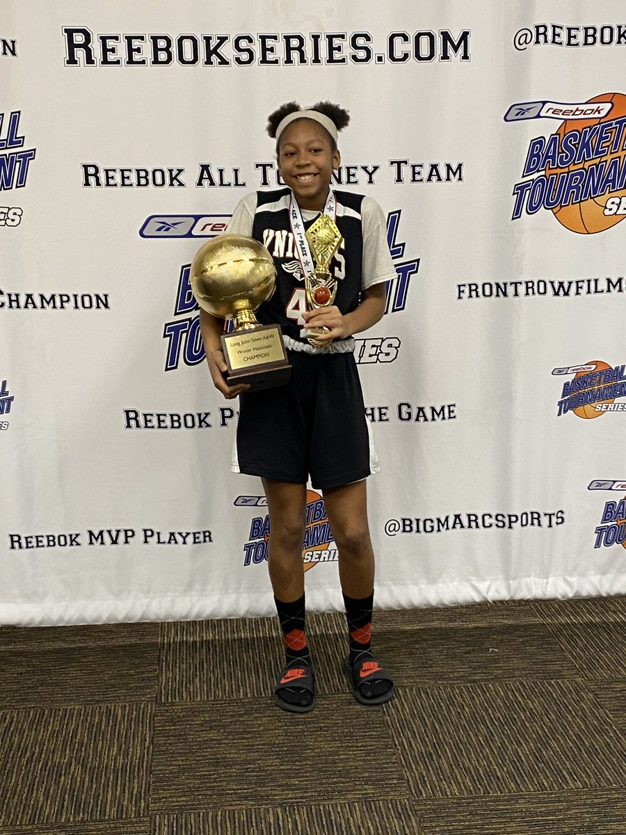 Congrats to Kyrii Franklin of 6th Elite Humiston on being the #MVP of the @ReebokSeries Winter Nationals!