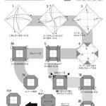 折り紙でデジタル数字が作れる!?自宅での暇つぶしにいかがでしょうか?