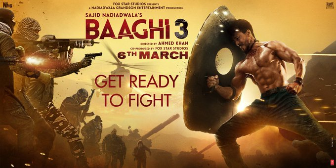 Tiggy! It's your birthday!! From Baaghi to Baaghi 3, I've enjoyed shooting with you every minute.  #GetReadyToFight