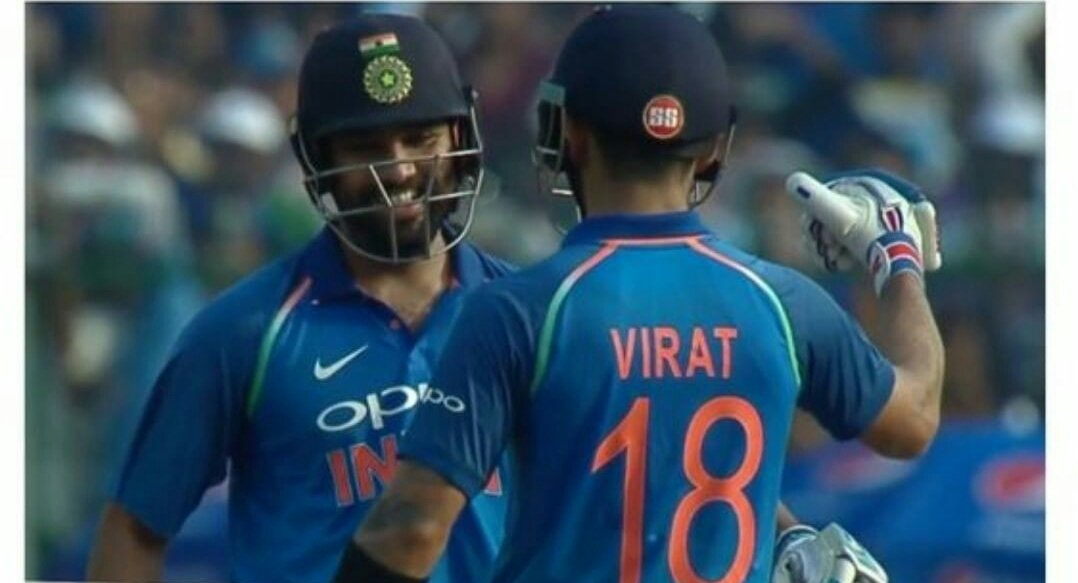 Life is easy when Rohit is at the other end -- Viratkohli #INDvNZ #RohitSharma<br>http://pic.twitter.com/Jtt90PQ2FS