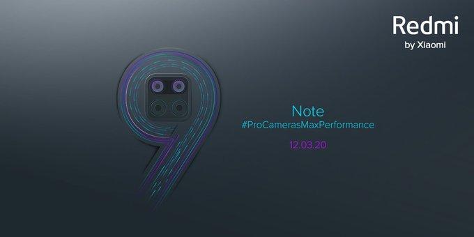 Pengumuman resmi peluncuran Redmi Note 9 di India