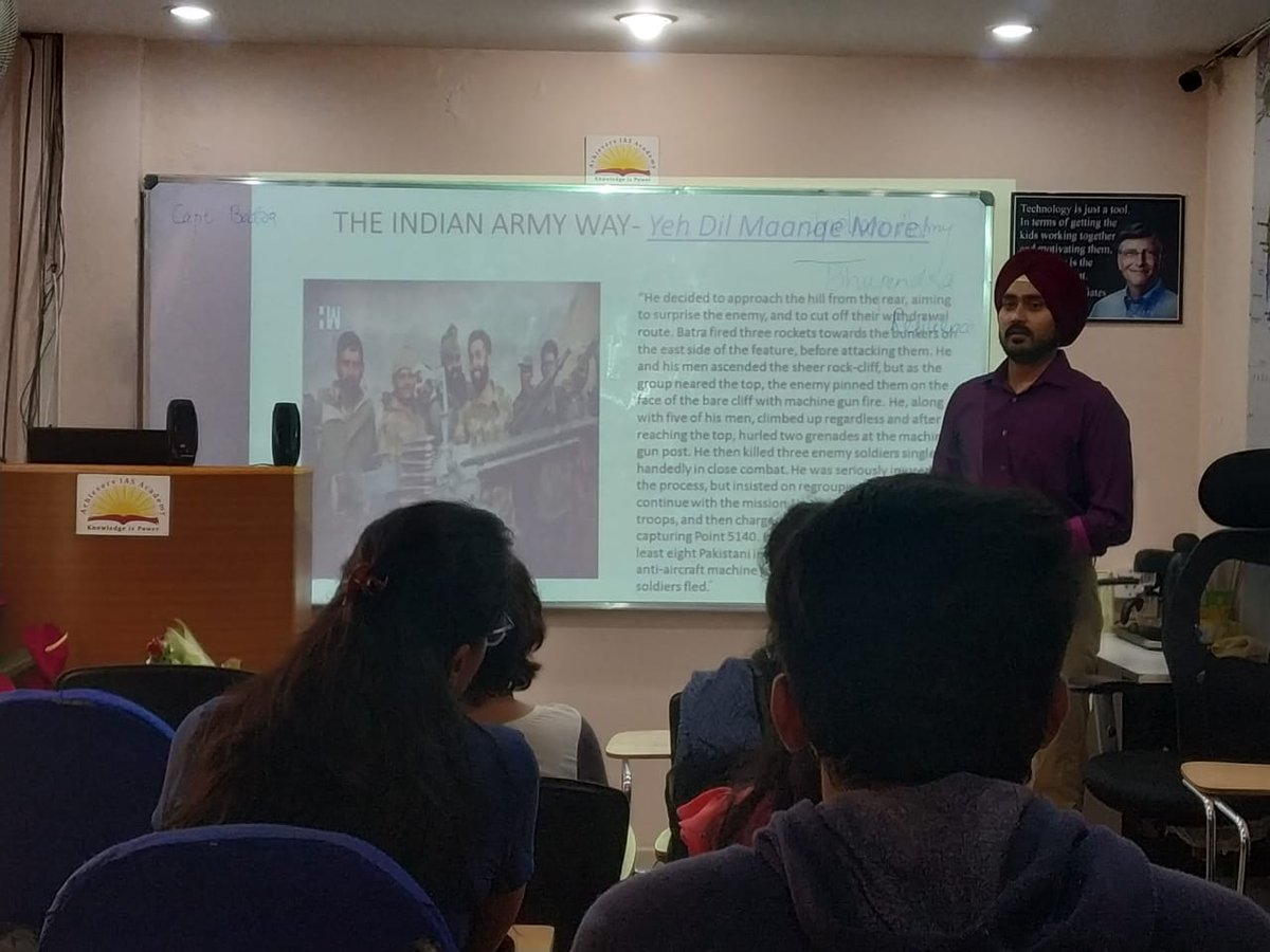 """Motivation Session by Major Bhupendra Singh an Ex. Indian Army Professional with experience in Government Affairs. He was an Officer in Charge of outreach programs conducted under """"Operation Sadhbhavna""""  #BhupendraSingh #MotivationSession #ExIndianArmy #IAS #UPSC #upscaspirants https://t.co/it5D75r7lA"""