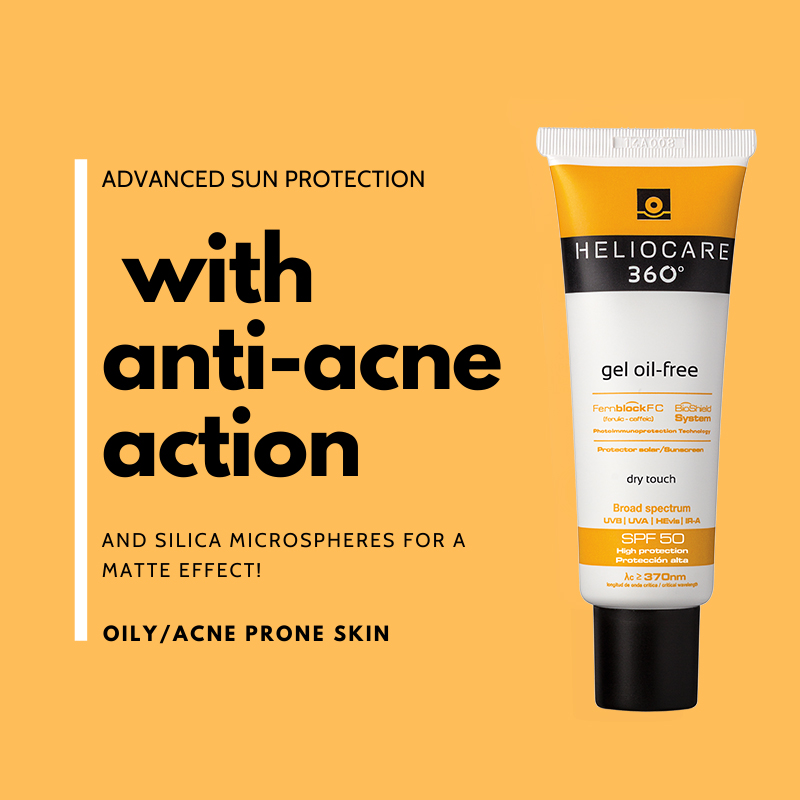 Are you looking for sunscreen suitable for acne prone skin?  #Heliocare360GelOilFree - advanced sun protection with #antiacne action.  #Heliocare #Heliocare360º #GelOilFree #AllSkinTypes #Everyday #Everywhere #Fernblock #UVA #UVB #Suncare #SunProtection #beauty #Sunscreen https://t.co/N0o1Phc3xS