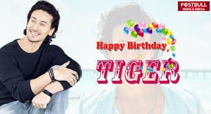 Happy birthday tiger sir i wish you live thousands of years  tiger shroff manny manny return of this day