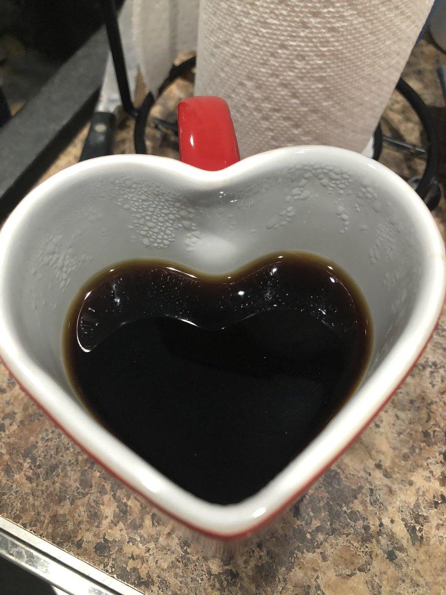 Finally using the mug I meant to use on #valetinesday.  I need all the coffee this morning.  #disneymugobsessed #whyisitmonday https://t.co/sJjutd5sYv