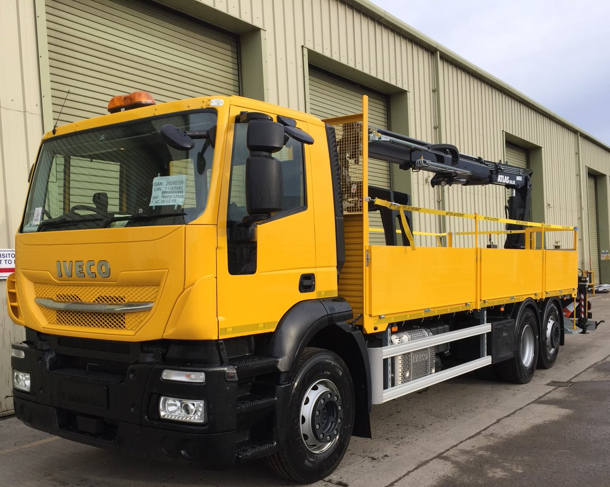 test Twitter Media - 26t Iveco Stralis Drop side, builders merchant spec with Atlas Crane  With thanks to Ian Hopkins @ @NETVLtd and @mkmbs   @IVECO @IVECOUK #Iveco #Stralis #Dropsider #BuildersMerchantSpec #AtlasCrane #MKM #NorthEastTruckandVan #MWHull #KeepingBritainMoving https://t.co/W4Svl44Jqu