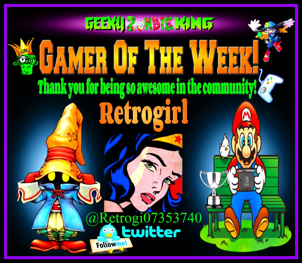 #GamerOfTheWeek goes out to Retrogirl @Retrogi07353740 Congrats! Another awesome person in our gaming community that loves her games and always sharing her collection and pick ups! Thank you also for supporting #ShareYourGames ! Be sure to check her page and give her a follow! https://t.co/Yp4s7tO5h3