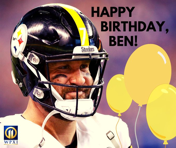 Happy 38th Birthday, Ben Roethlisberger!