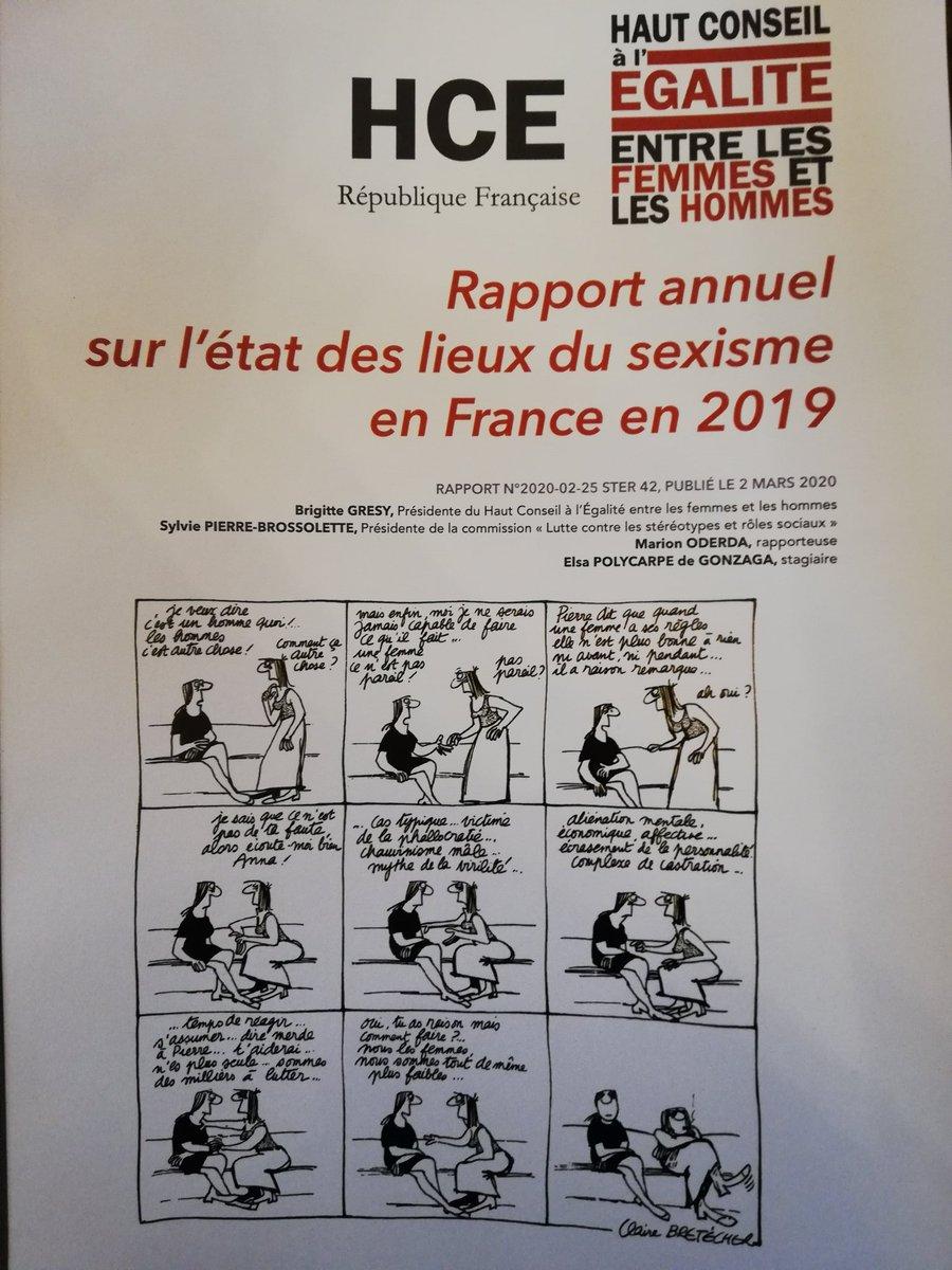 Vignette document Rapport annuel sur l'état des lieux du sexisme en France en 2019