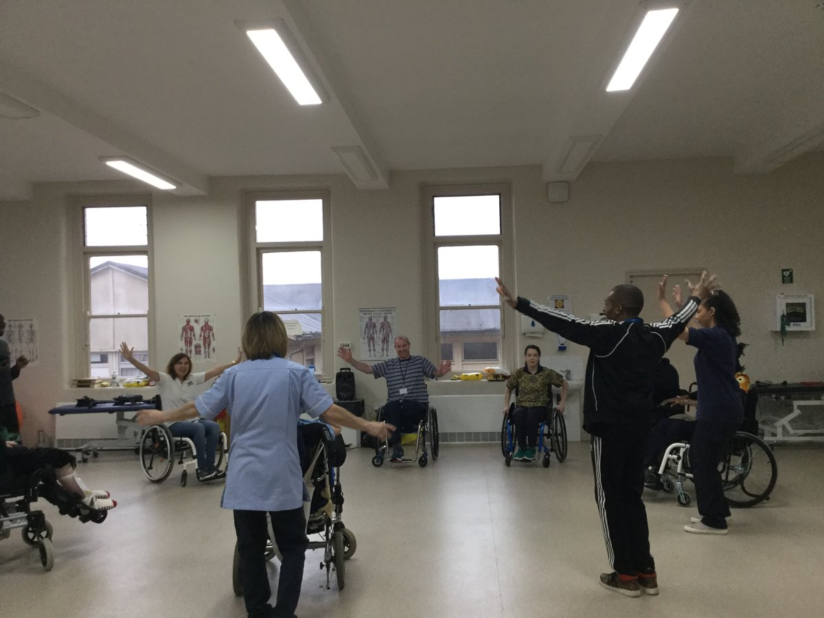 We have had a fantastic time hosting another Para Dance UK event here at The Royal Buckinghamshire Hospital, it was filled with joy and boogieing with both staff and patients joining in. We host our next event on 27th March so keep posted!  #everyonecandance #ukihma #healthcareuk https://t.co/wh167ekUaR