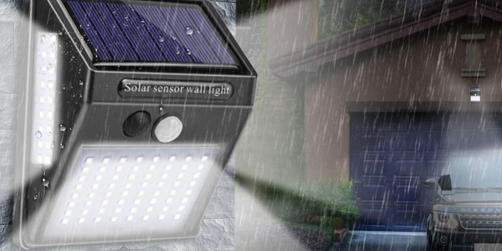 Battery Powered Lights Security Twin Lighting PIR Motion Sensor Zennox Solar