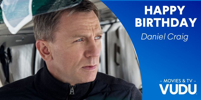 Happy birthday to the 7th actor to play 007, Daniel Craig!
