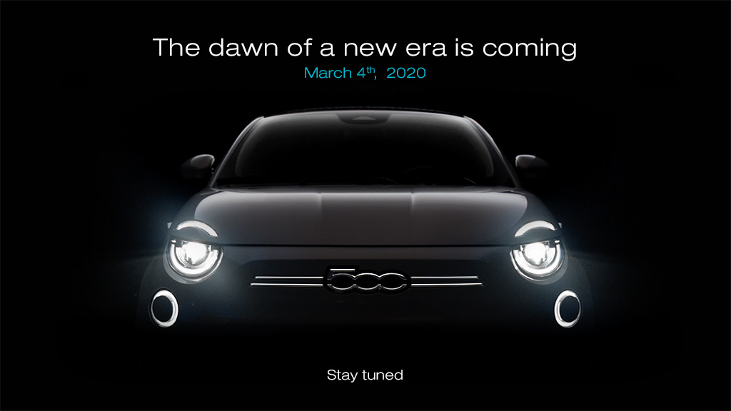 Ready to inspire change, once again. Stay tuned. #New500 #Pure500 #FiatElectric #InspiringChange #500electric