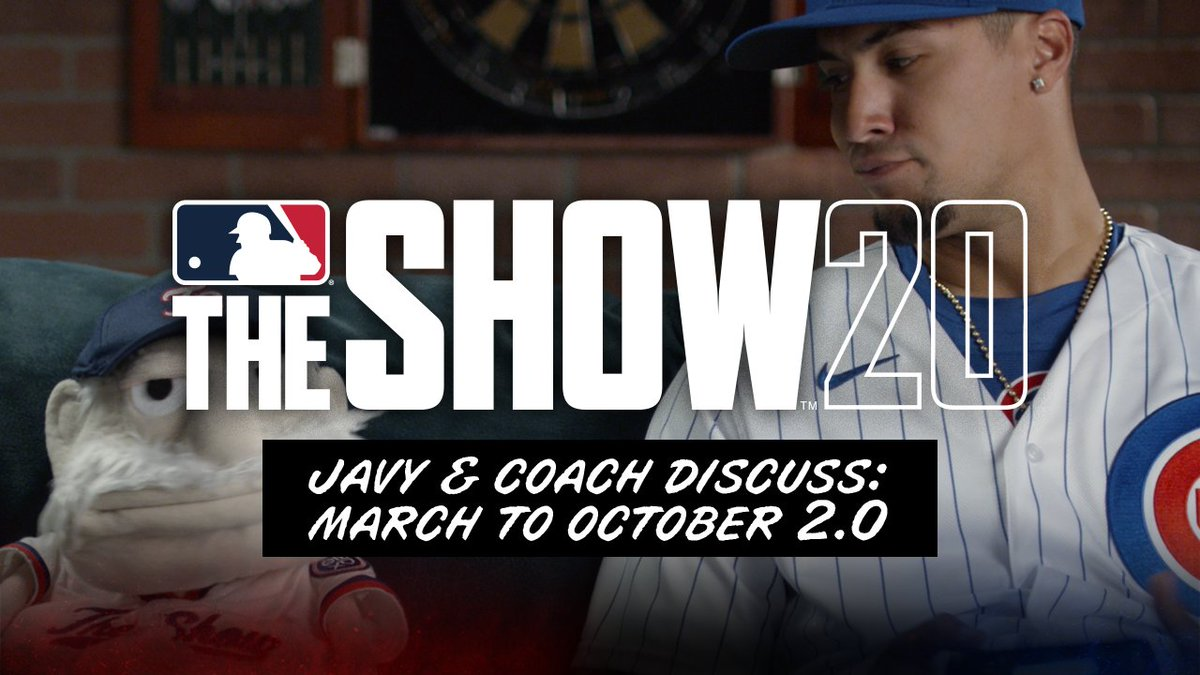 Lead your favorite team to the World Series in less time with March To October! 🎩🔥💪🏽 Pre-Order MLB The Show 20 NOW: play.st/TheShow20 @MLBTheShow #MLBTheShow20 #playstationpartner