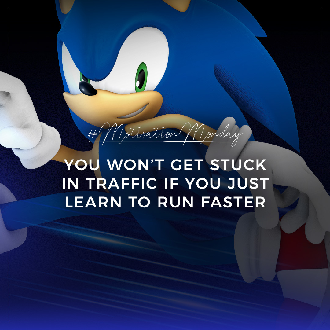 Sonic The Hedgehog On Twitter Never Stop Running