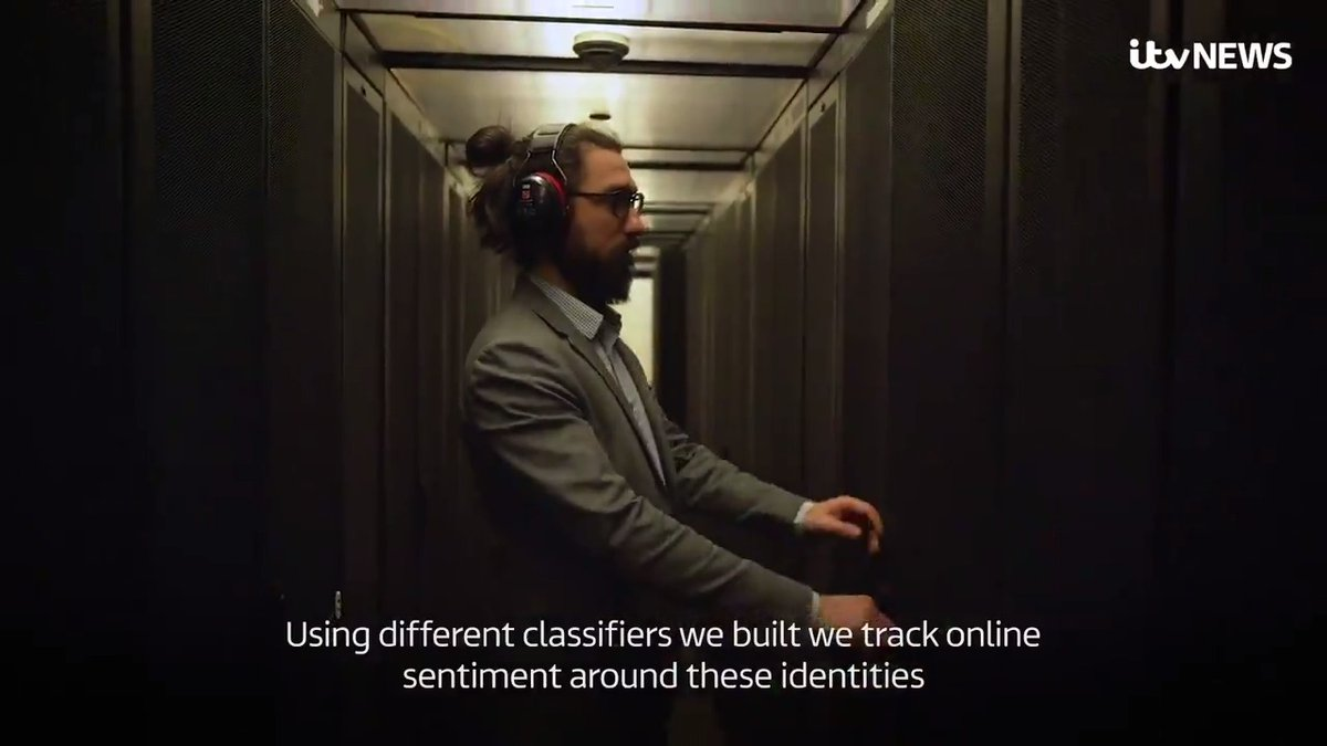 Great to see our @esrc funded work in the @hate_lab on #artificialintelligence for the observation and understanding of trends in online hate speech covered by @itvnews https://t.co/DkKZlGaMOE