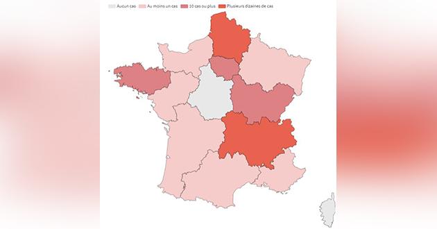 Bfmtv On Twitter 12 Regions Sont Aujourd Hui Touchees Par Le Coronavirus Https T Co Ebwa2j1xz7