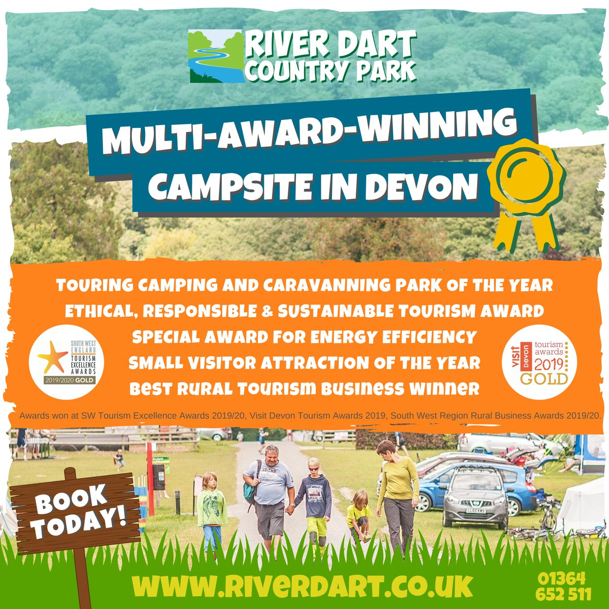 The suns shining and were just weeks away from opening our multi-award-winning campsite for 2020! ☀️😎🌳 Come and see what all the fuss is about... riverdart.co.uk 01364 652 511 #camping #holiday #caravanning #devon #dartmoor #riverdartcountrypark