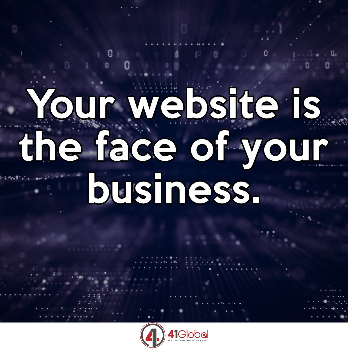 Never forget that for many of your future clients, your website may be the only connection they ever have to your business. https://t.co/i2Nsv7dRrO  #41Global #webdevelopment #webdesigncompany #atlanta #webdesigns #webdesigner https://t.co/MPBXaJuoKI