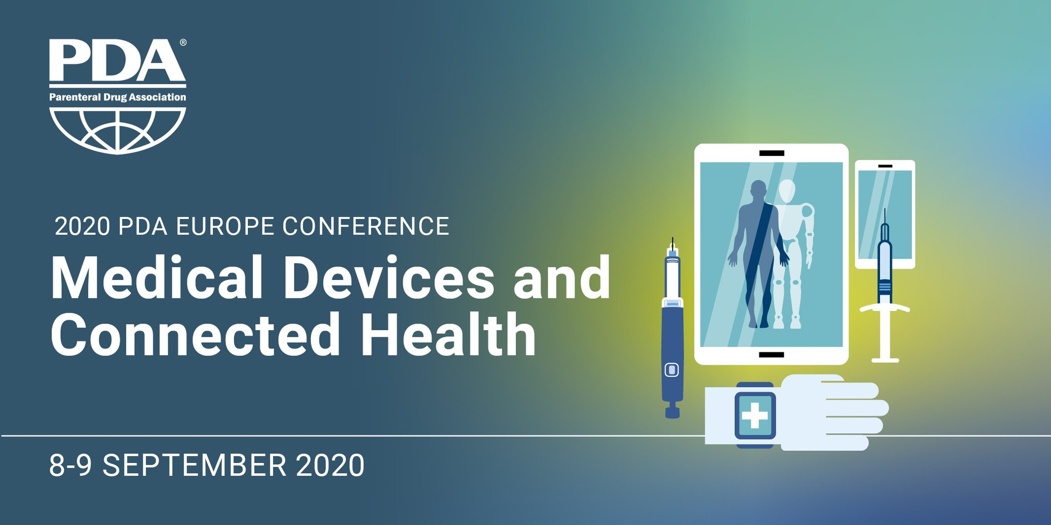 "PDA Europe on Twitter: ""PDA Europe Medical Devices and Connected Health  will take place in Madrid, Spain on 08-09 September 2020 and set a forum to  engage in exchange and explore possible"