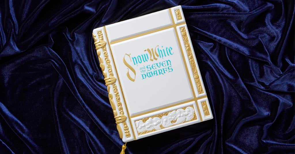 A Snow White replica journal that is designed to look like the book in the opening of the film.