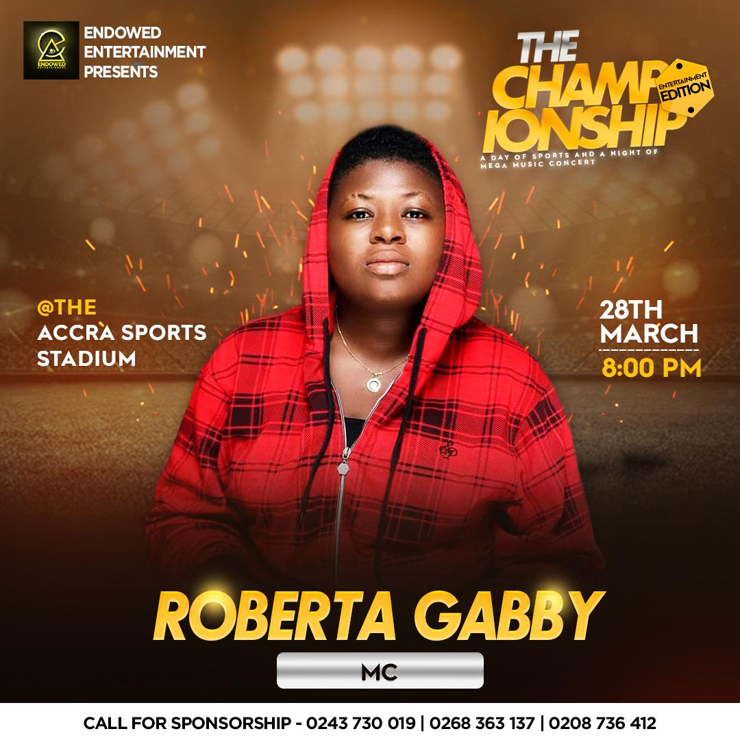 It's a blessing to be on this as an #MC coming from where I come fromThanks to everyone for the Support! Bless up @sins19kojohoho @EndowedZamani @BeenieWords #TheChampionship #EndowedEntertainment  #RG #DerichEmpire #TopGirl #TBMG #BeenieWords #AccrasportsStaduimpic.twitter.com/28DcpX7yby