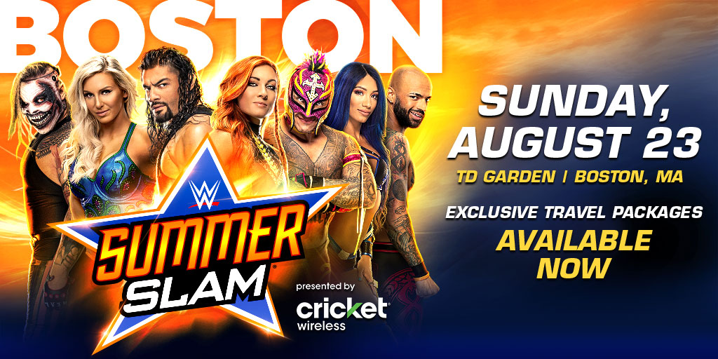 WWE Officially Cancels Summerslam 2020 From Boston TD Garden 1