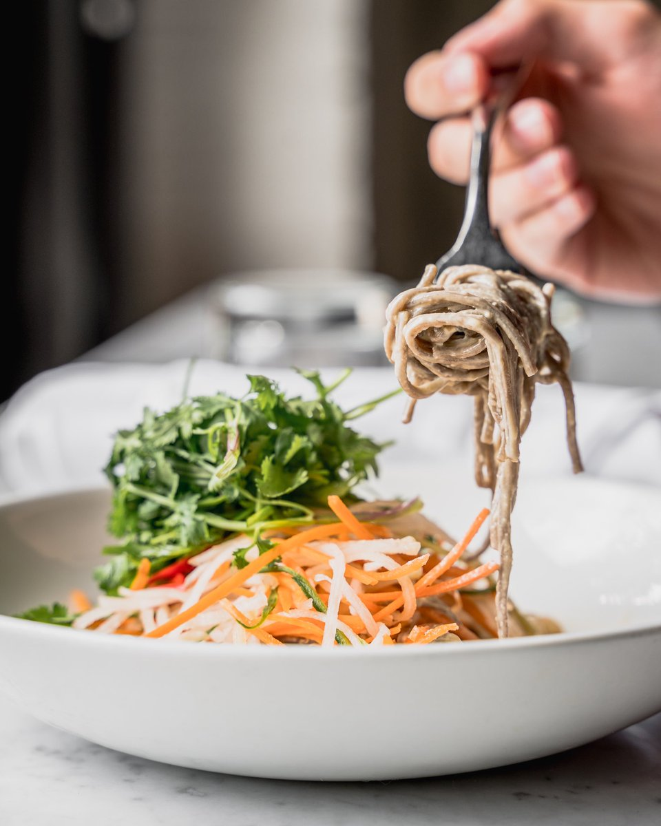 Happy Monday! Stop by and start your week off with a delicious lunch 📷 Soba Noodle Salad #thediplomathamont #hamont #lunchmenu #hamiltonrestaurants https://t.co/e3Z4MsOzyX