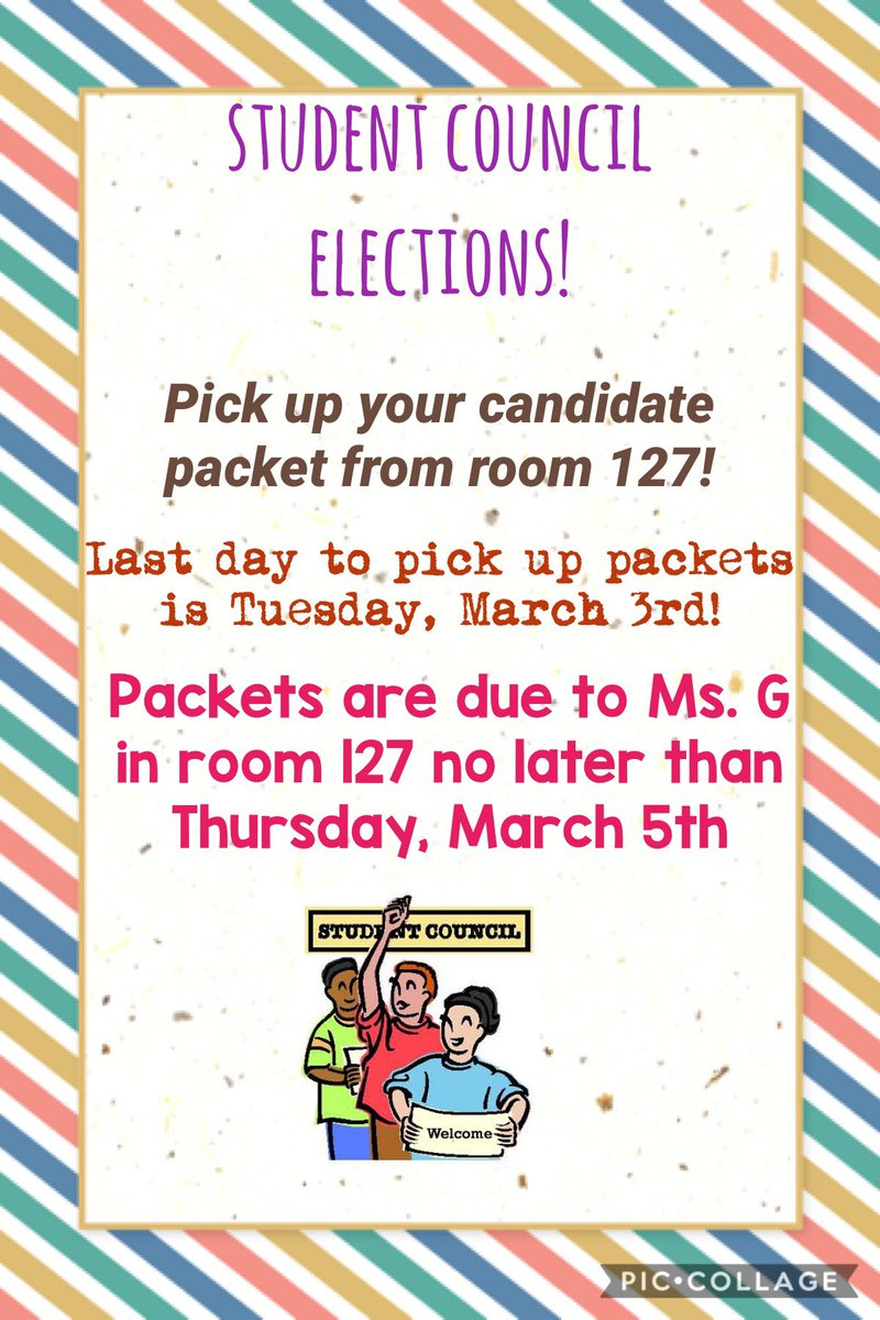 If you are interested in being a leader of your school come and grab a Student Council Officer Packer ! #wearespring #mbybob https://t.co/DCCibkLuBU