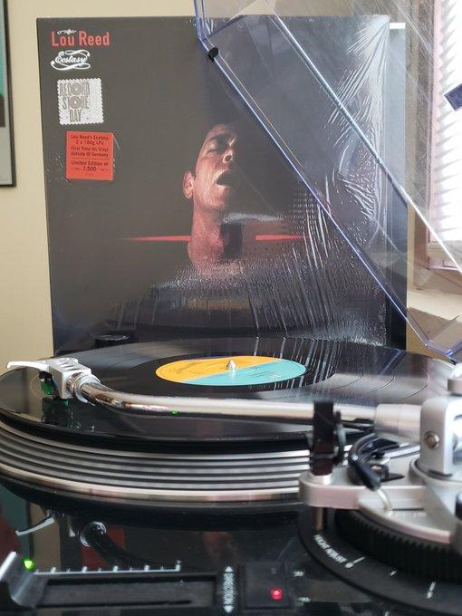 Lou Reed - Ecstasy (2000). 2019 RSD Reissue. Happy birthday, Lou.