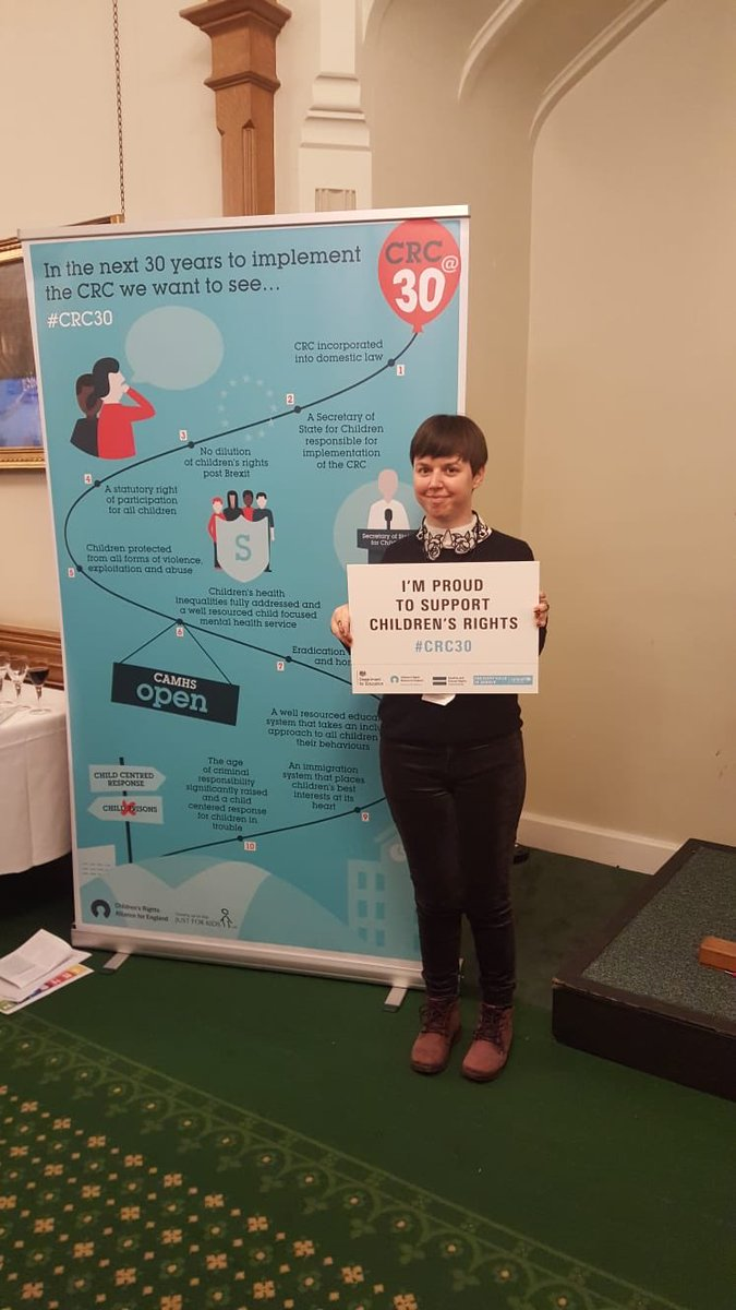 @SFAactive and Justine are at Parliamentary Reception to mark the 30th anniversary of the UNCRC. Great turn out and great atmosphere. Let's celebrate children's rights #ALLFIE #CRC30