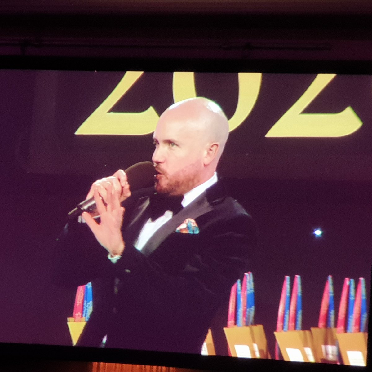 So Tom Allen is the host!!  @VADO_uk #kbb2020 #kbbawards2020 #kbbbirmingham