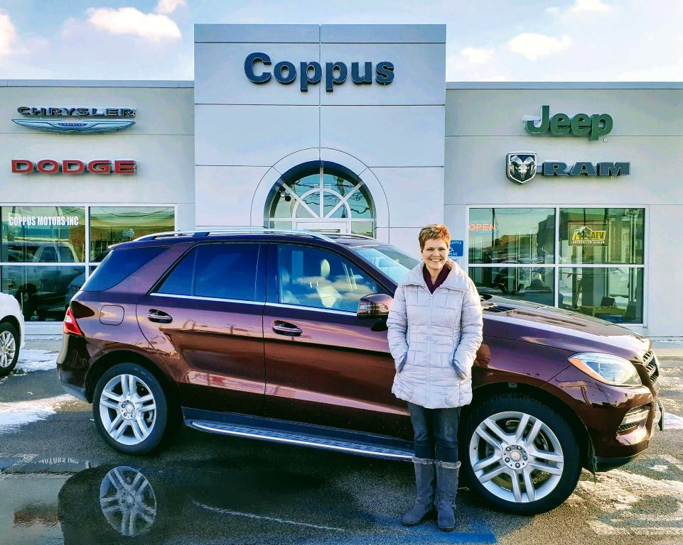 coppus motors on twitter please help us congratulate alice redman on the purchase of her 2014 mercedes benz ml350 from salesperson ron white thank you zo https t co scczpgh3pf twitter