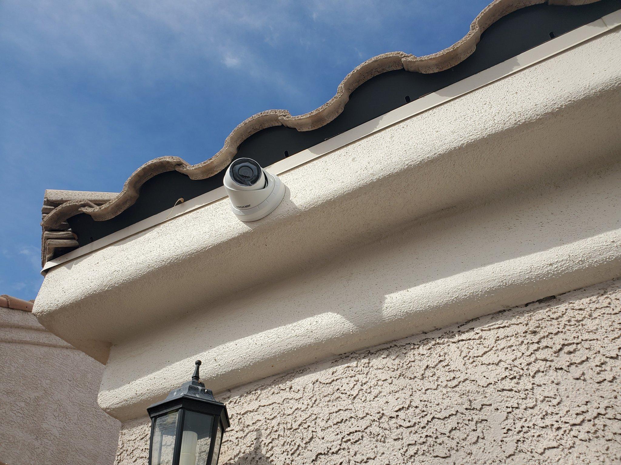 changer caméra de surveillance