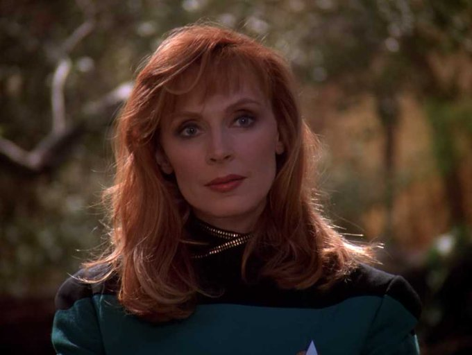 Happy 71st birthday to STAR TREK: THE NEXT GENERATION alum Gates McFadden!