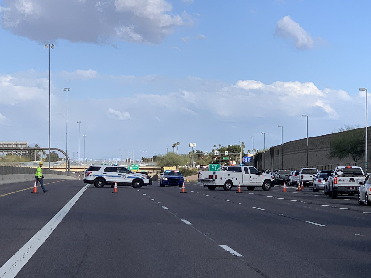 Right now ... all traffic on EB U.S 60 being diverted off the highway onto McClintock. Heavy delays.