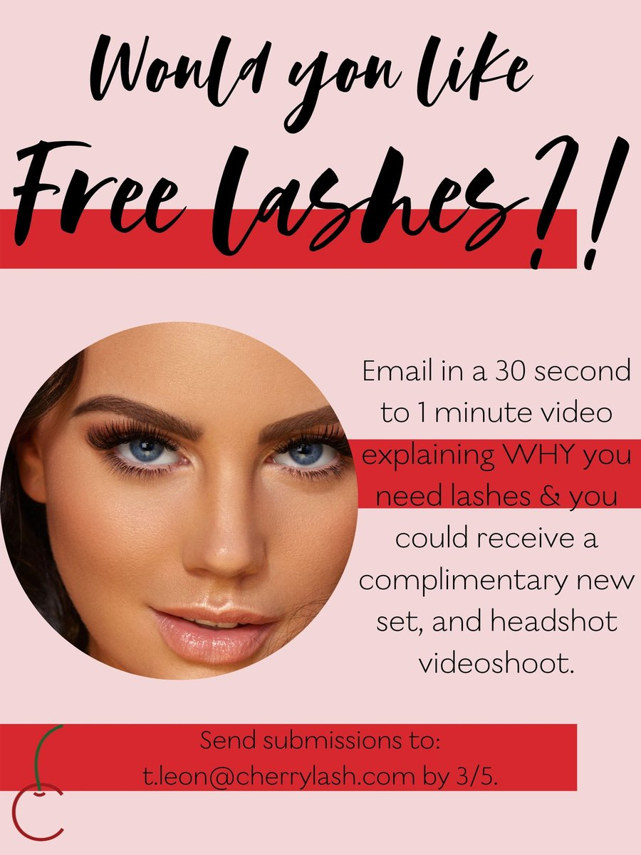 Send in your submission for a chance to receive a complimentary new set and videoshoot  •⠀ •⠀ •⠀ #freelashes #megalashes #volumelashes #lashaddict #lashlove #lashgoals #vegaslashes #beauty #makeup #lashextensions #makeupaddict #instabeauty #volumelashespic.twitter.com/pUITklZ590