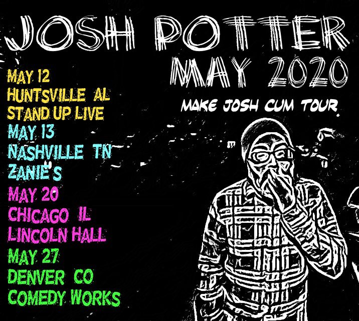 Josh Potter On Twitter Shows Shows Shows May 12 Hunsville Al Standuplivehsv Https T Co Mfn0xphzeb May 13 Nashville Tn Zaniesnashville Https T Co 5zezfaahnx May 20 Chicago Il Lincolnhall Https T Co Alosjw5ehv May 27 Denver Co Read josh hutcherson from the story humor potter by ninanininaa (neena killjoy) with 10,206 reads. twitter