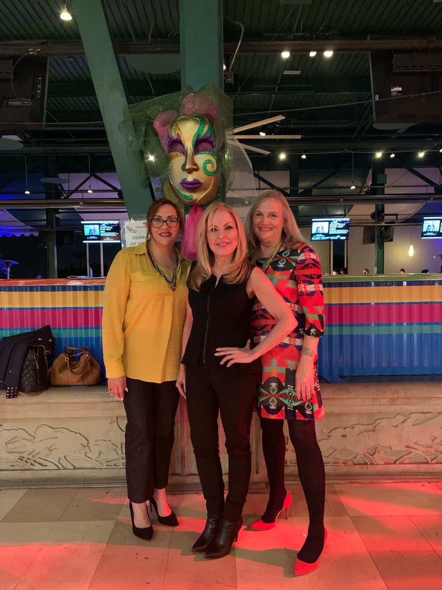 "Cat Grelle, Marci Lines, and Patty Gonzales attended the Mardi Gras at Santa Anita Racetrack event on February 25 on behalf of Assisted, fun was had by all! #AssistedCares #HomeHealth #Hospice #Community #SantaAnitaRacetrack"" pic.twitter.com/gx184ryb87"