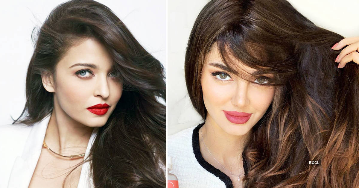 Stunning pictures of #Aishwarya Rai Bachchan's doppelganger #MahlaghaJaberi  Earlier,Iranian model Mahlagha Jaberi was in the news for her uncanny resemblance with #Bollywood Celebs actress Aishwarya Rai Bachchan  #aishwaryaraibachan #mahlagajaberi #actress #Celebrity #Bollywoodpic.twitter.com/BSAl0JSFAY