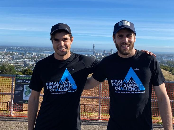Join us tonight at 6pm in #Christchurch at the Rapaki Track to launch the Himalayan Trust #SummitChallenge 2020 with George and Alex Hillary - Sir Ed's grandsons. https://t.co/wVlzPYTNog