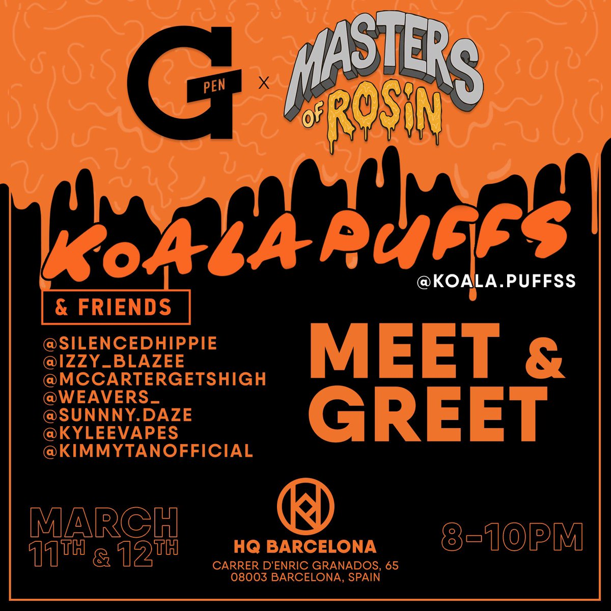 Spain meetup? Let's do it!! Come say hi and let's smoke 😍 https://t.co/1iy8qDfLGY