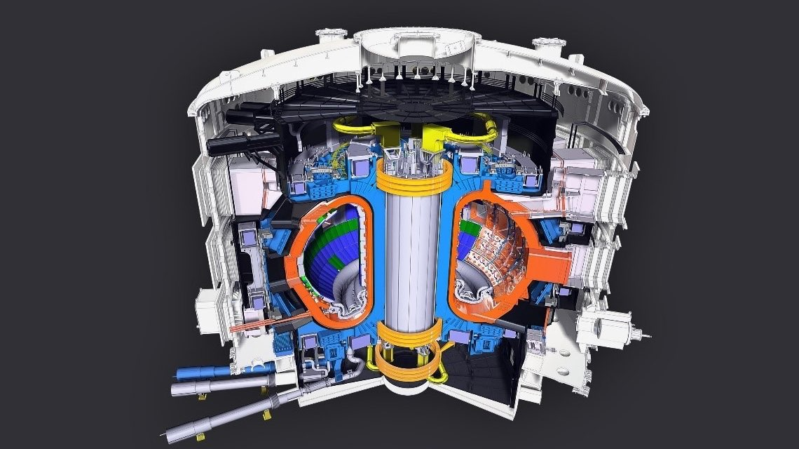 How will @ITERorg's divertor — an exhaust pipe for a fusion reactor — work in the future? Thats one question experts explored at a recent IAEA meeting: bit.ly/2PFyLdN