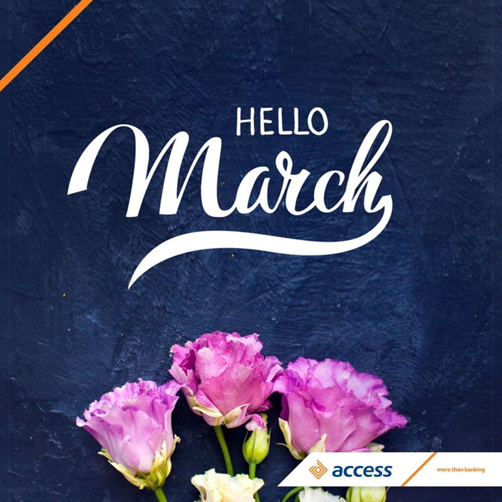 Good morning people! Are you ready to match the energy that March is bringing? #AccessMore